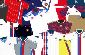 Tous les maillots de l'OL sur une seule page / Olympique Lyonnais / Le Libéro Lyon